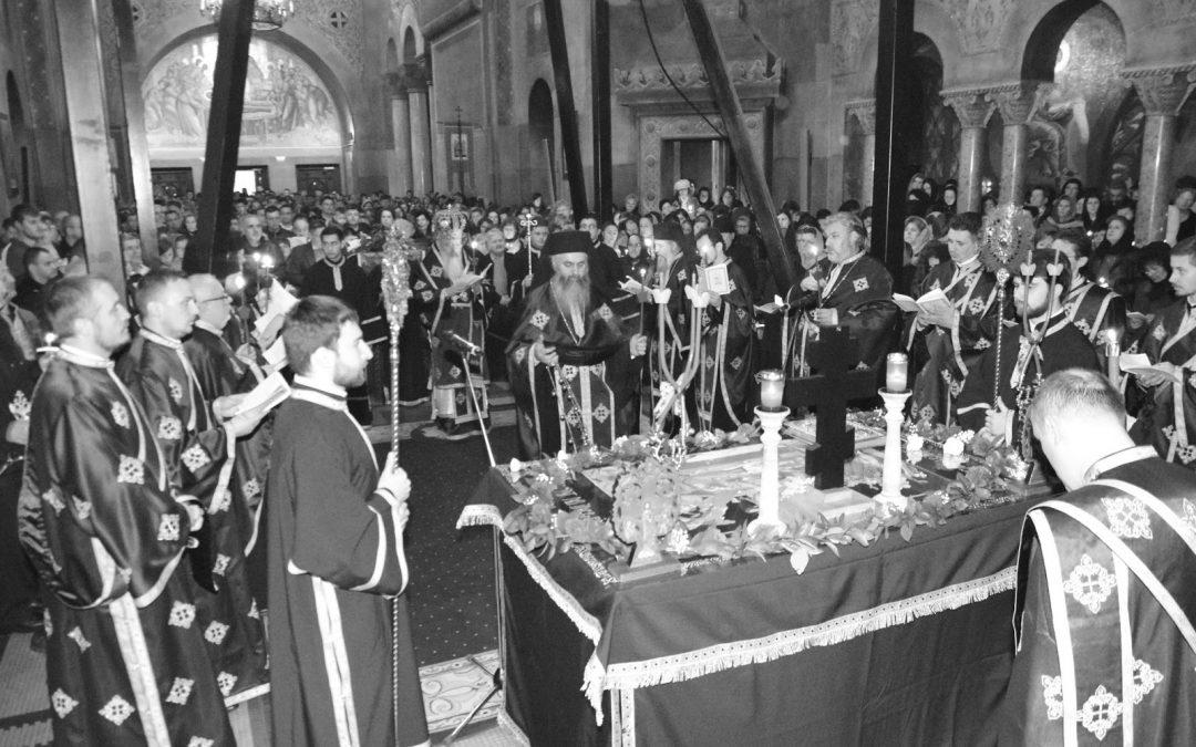 Prohodul Domnului, la Catedrala Mitropolitană din Cluj
