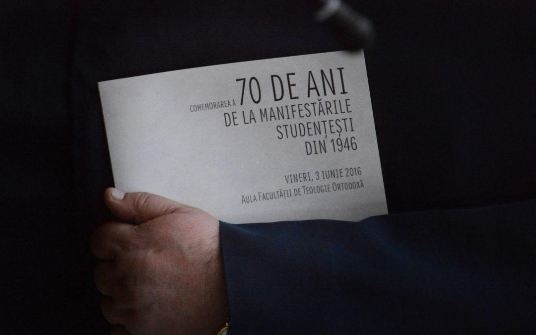 70 de ani de la greva studențească din Cluj-Napoca