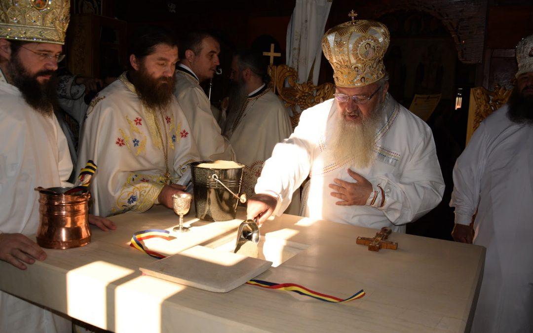 Sfințirea Mănăstirii Cormaia