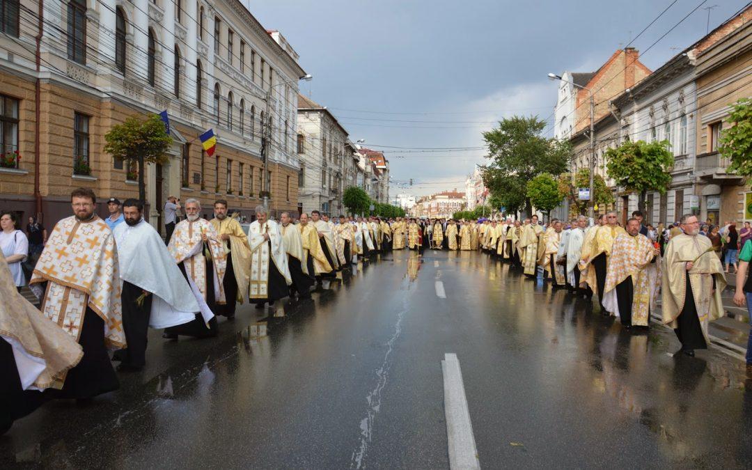 Procesiunea de Rusalii la Cluj-Napoca
