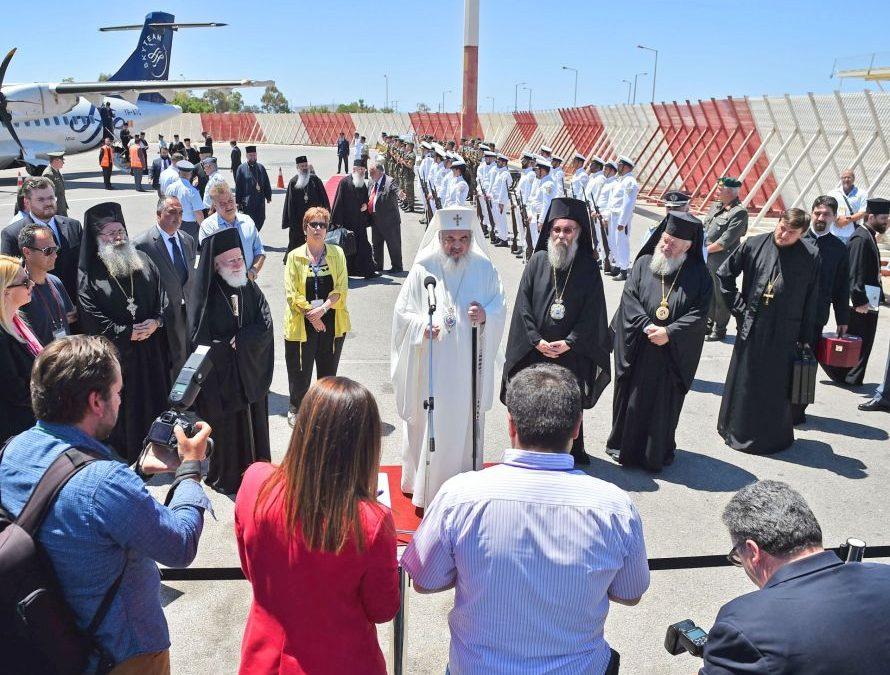 Delegația Bisericii Ortodoxe Române a ajuns în Creta
