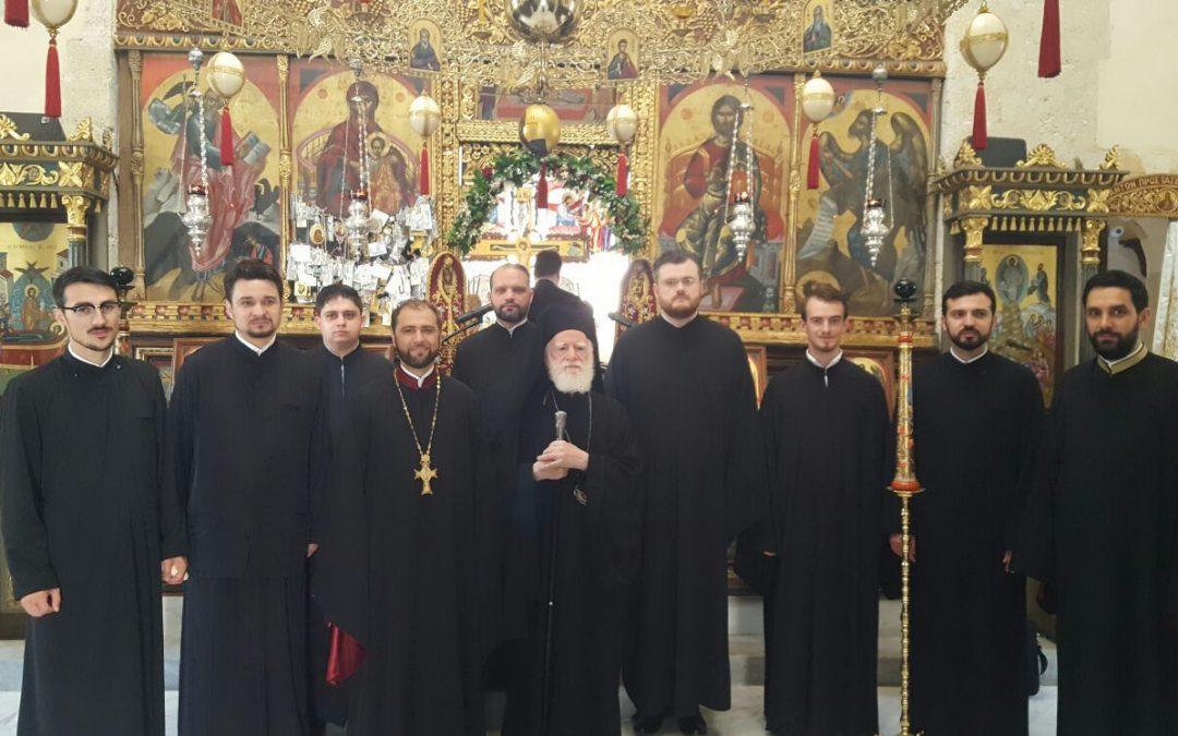 Sfânta Liturghie în limba română la Mănăstirea Gonia din Creta