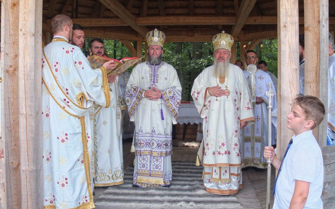 """Hramul Mănăstirii """"Sfânta Maria Magdalena"""" din Oarța de Sus, jud Maramureș"""