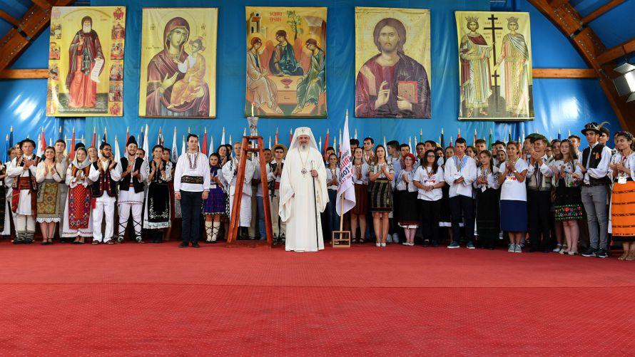 """Festivitatea de deschidere a """"Întâlnirii tinerilor ortodocşi din toată lumea"""" din București"""