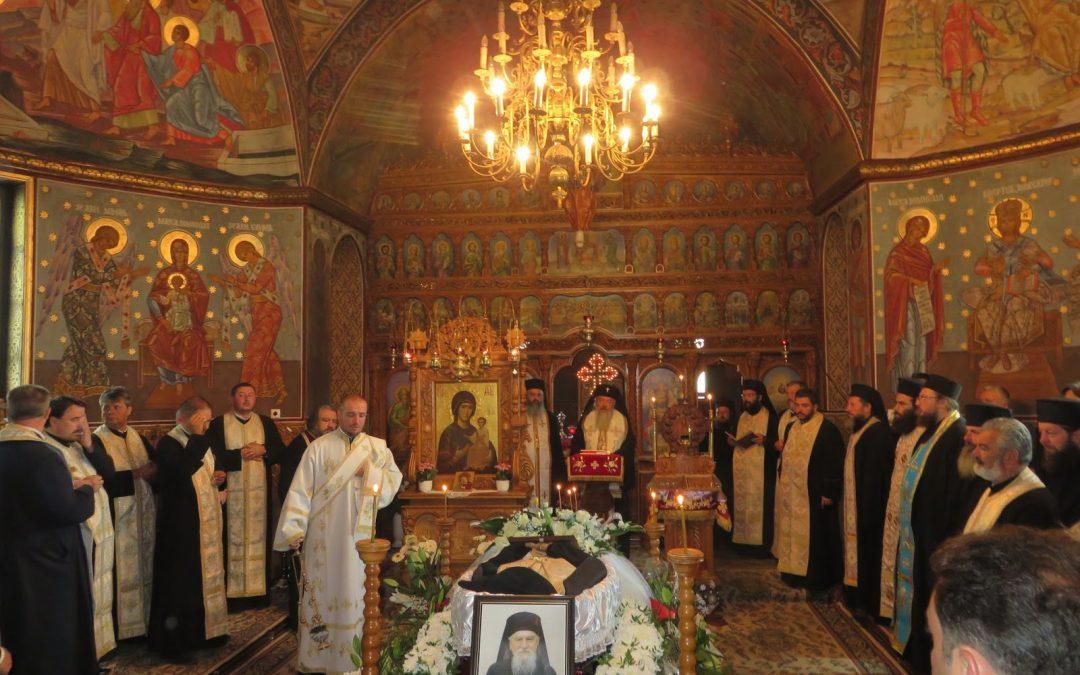 Arhim. Mihail Goia unul din foștii stareți ai Mănăstirii Nicula a trecut la veșnicie la 90 de ani