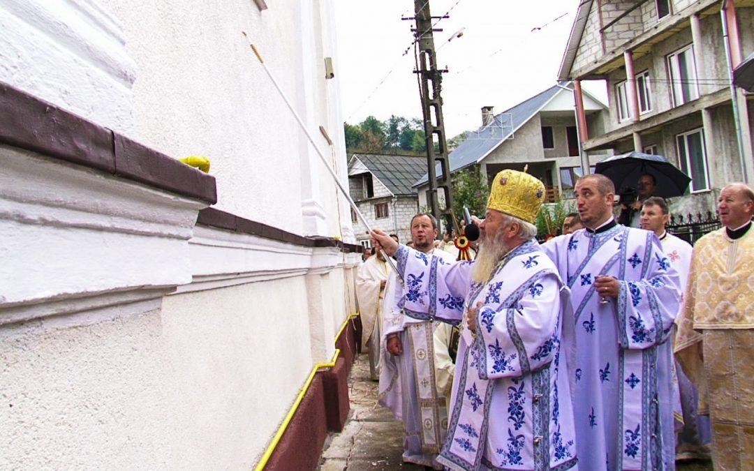 """Biserica din Coșbuc, resfințită la 150 de ani de la nașterea """"poetului țărănimii"""""""