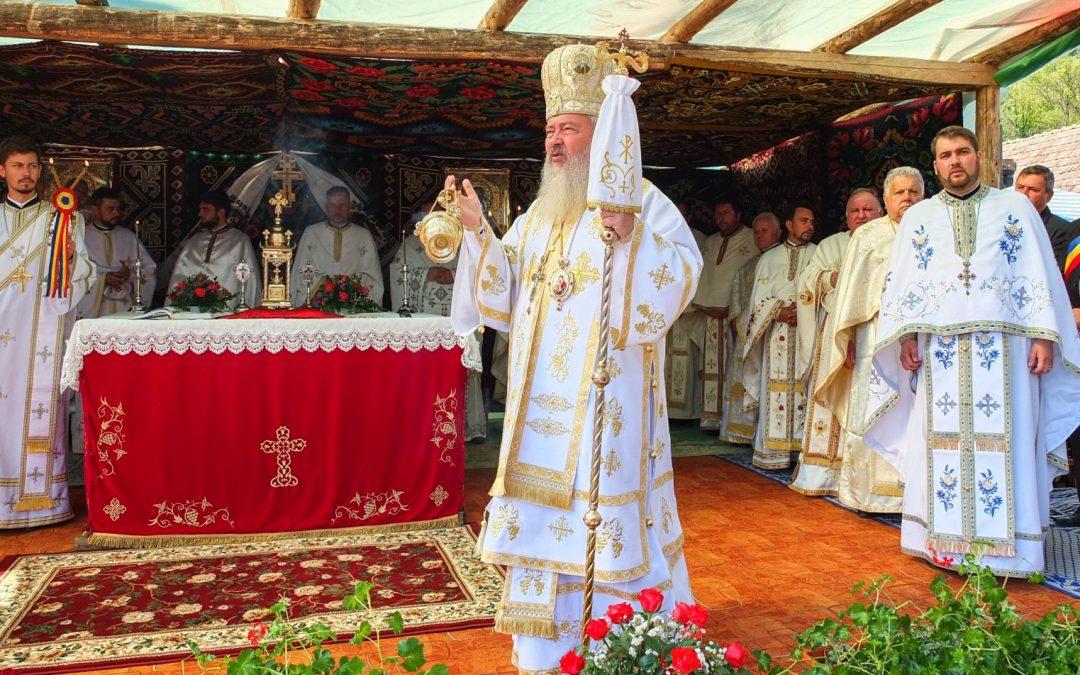 Resfințirea bisericii din Târgușor