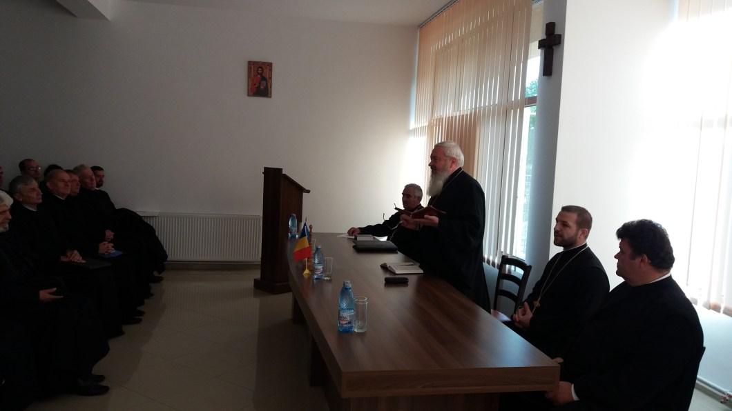 Rolul Sf. Ierarh Antim Ivireanul în istoria Bisericii Ortodoxe, prezentat clericilor din Protopopiatul Dej