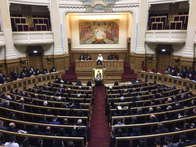 Ședinţa solemnă a Sfântului Sinod al Bisericii Ortodoxe Române