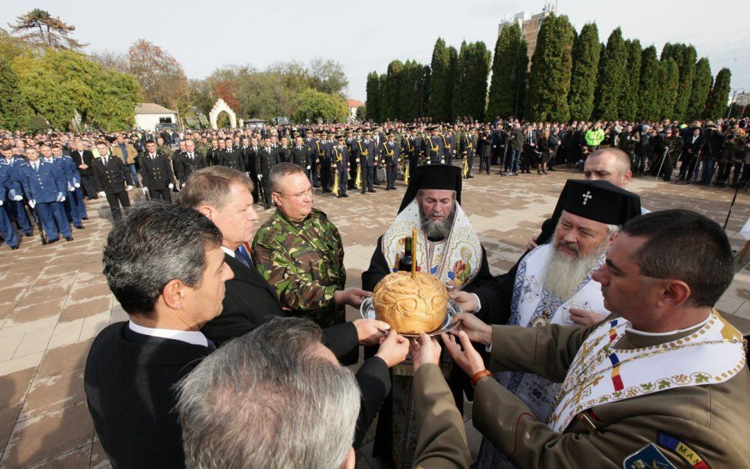 Ziua Armatei Române sărbătorită la Carei. Preşedintele României a fost prezent la manifestări