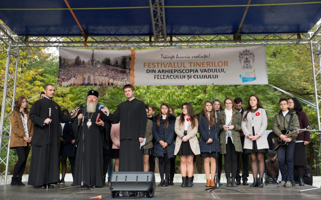 Trăiește bucuria credinței! – Festivalul Tinerilor din Arhiepiscopia Clujului