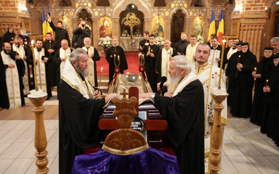 Priveghere pentru vrednicul de pomenire Arhiepiscop Justinian
