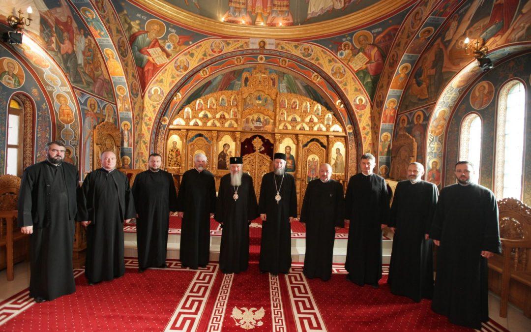 Ședința Permanenței Eparhiale din Episcopia Maramureșului și Sătmarului, sub prezidiul Mitropolitului Andrei