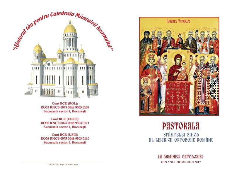 Pastorala Sfântului Sinod în Duminica Ortodoxiei