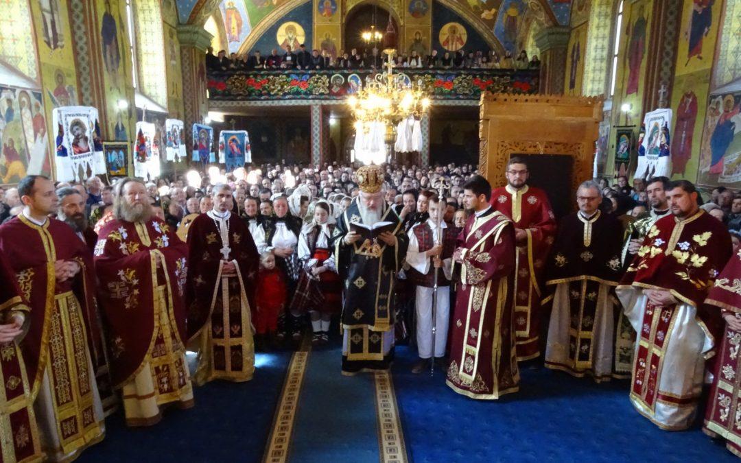 Zi de sărbătoare în Parohia Săcel, Maramureș