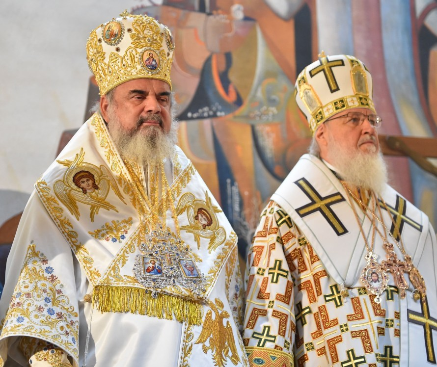 Image result for patriarhul Daniel patriarhul Kiril