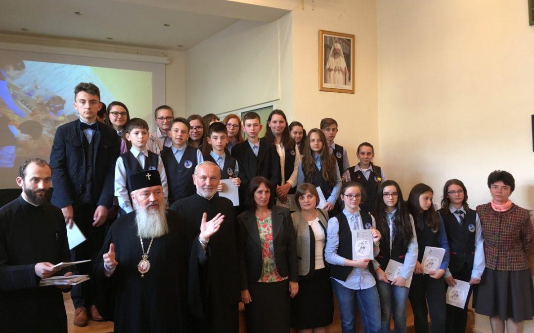 """Premierea câștigătorilor Concursului Național de creație """"Icoana și Școala mărturisirii"""" la nivelul Eparhiei Clujului"""