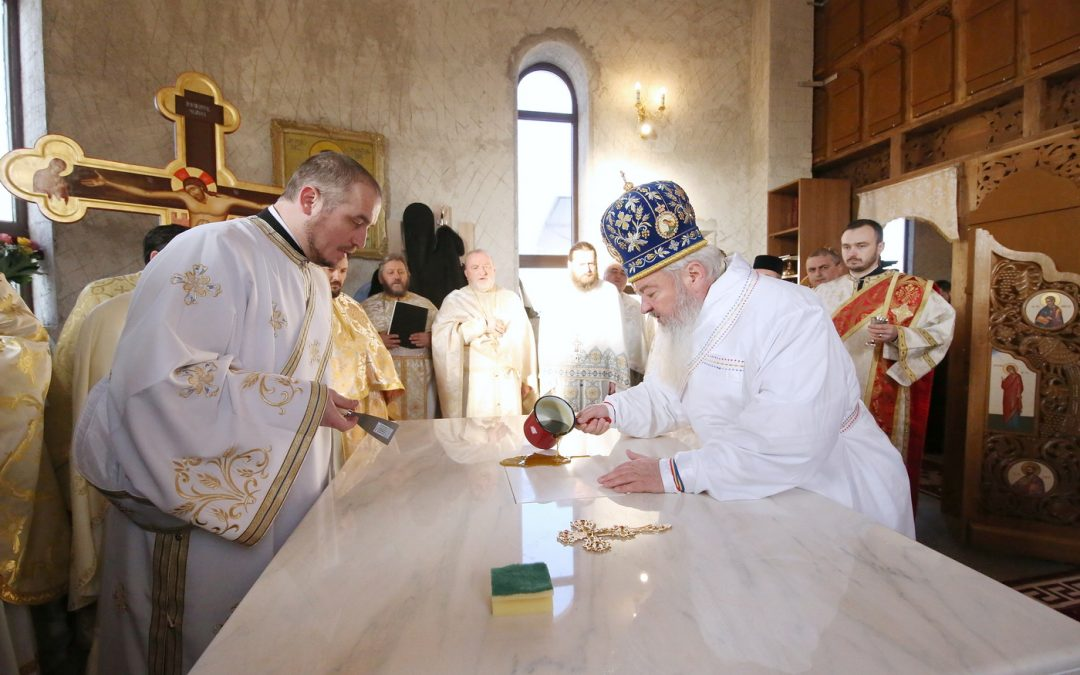 Târnosirea Bisericii parohiei Turda Fabrici