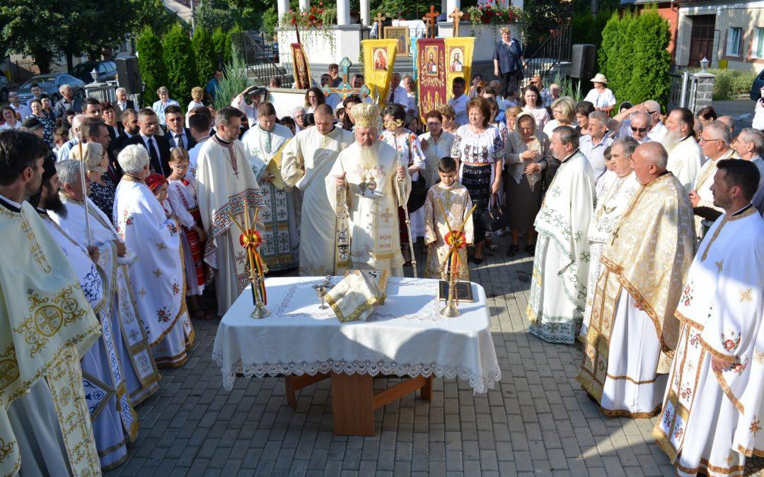 Sfințirea Bisericii Sf. Prooroc Ilie – Bistrița