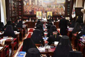 ÎPS Andrei, Mitropolitul Clujului participă la Şedinţa Sfântului Sinod
