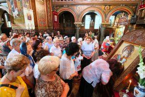 Icoana Maicii Domnului de la Muzeul Catedralei Mitropolitane din Cluj-Napoca, la Turda