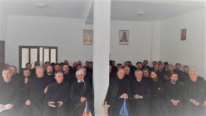 Şedinţă preoţească şi binecuvântarea unei case parohiale în Protopopiatul Dej