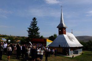 Biserica Parohiei Berchieșu, sfințită de Înaltpreasfințitul Părinte Andrei