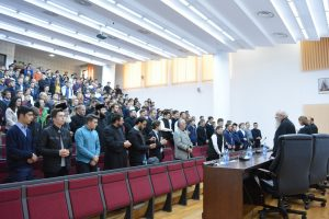 Ana Blandiana, în dialog cu tinerii teologi clujeni