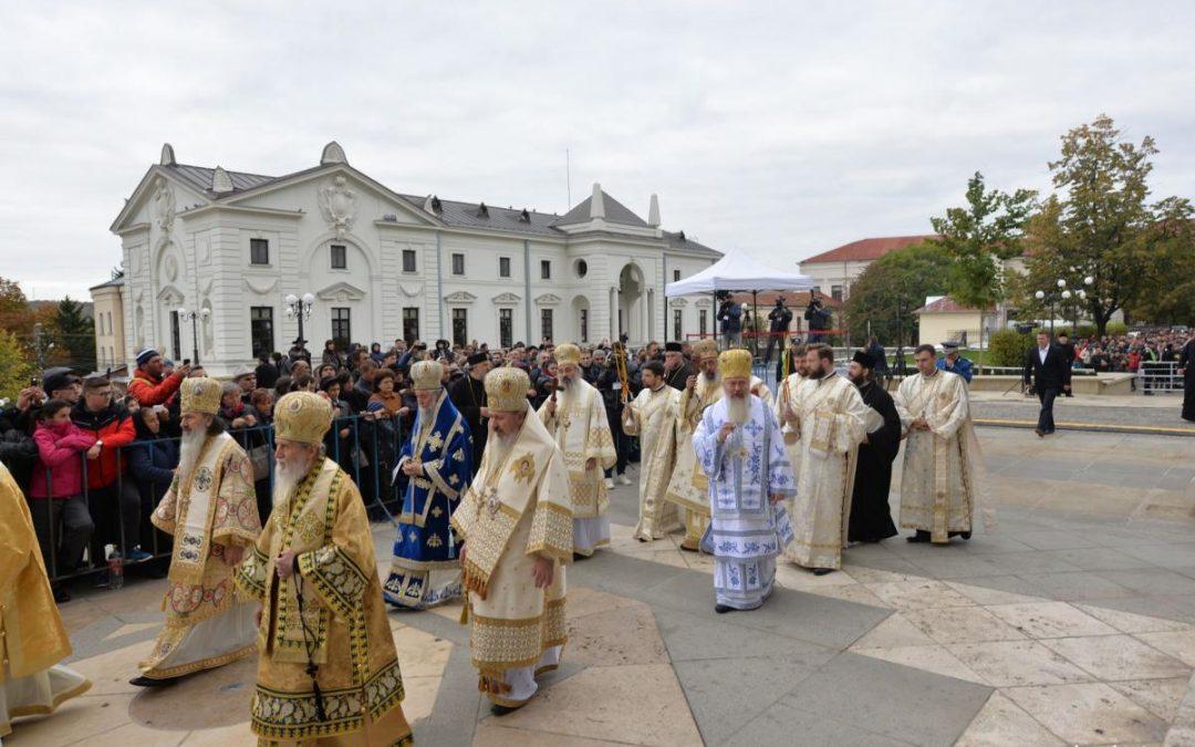 ÎPS Andrei la sărbătoarea Sfintei Cuvioase Parascheva de la Iași