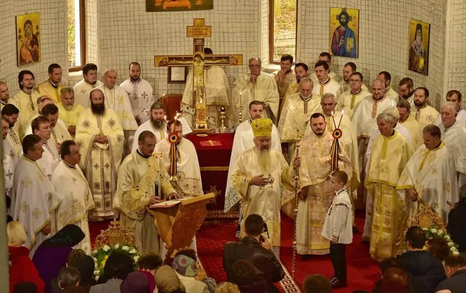 Sfântul Ierarh Nectarie Taumaturgul sărbătorit la Dej