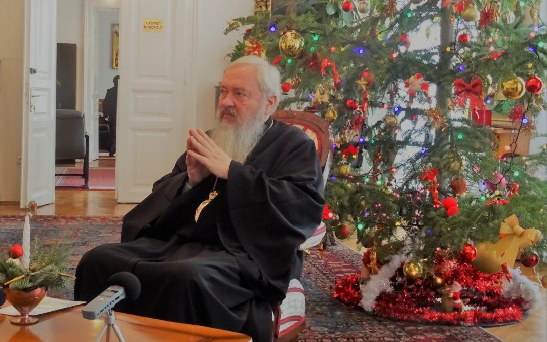 Mesajul de Crăciun al ÎPS Andrei (audio)