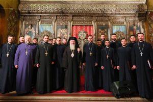 """Corala bărbătească """"Armonia"""" în Catedrala Mitropolitană din Cluj"""