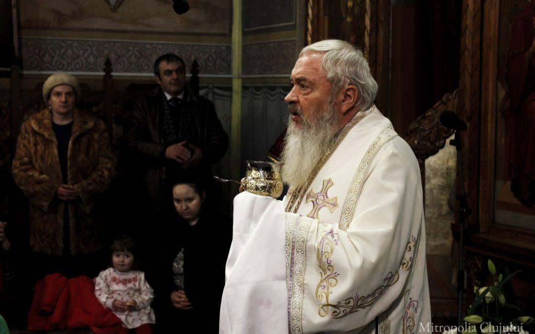 """Hramul bisericii """"Sfinții Trei Ierarhi"""" din Bistrița"""