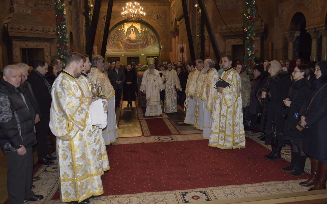 Anul Nou, la catedrala mitropolitană din Cluj-Napoca