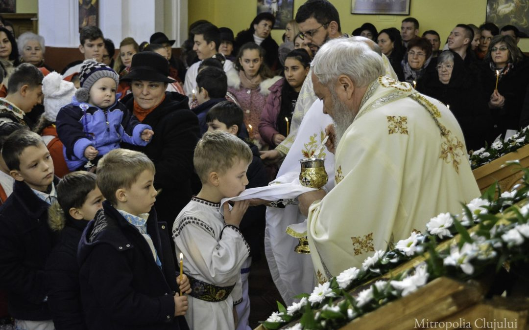 Liturghie Arhierească în Parohia Sigmir