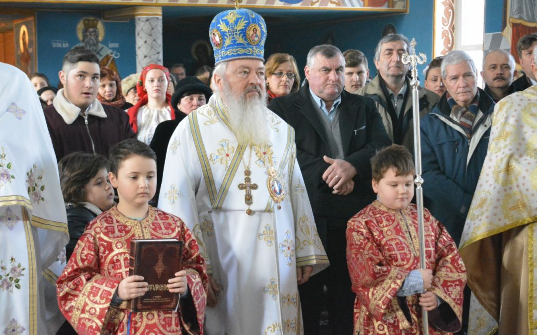 ÎPS Andrei a fost prezent în Duminica Ortodoxiei, în Parohia Șieu-Sfântu, Protopopiatul Beclean