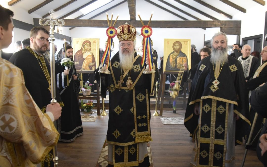 """Primul hram al Mănăstirii """"Sfinții 40 de Mucenici – Memorial Gherla"""""""