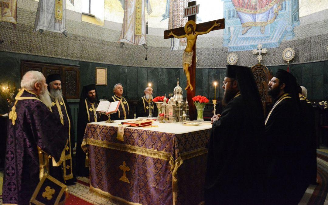 Denia celor 12 Evanghelii, Catedrala Mitropolitană 2018