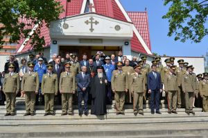 Biserica militară din Cluj-Napoca, resfințită de Înaltpreasfințitul Părinte Andrei