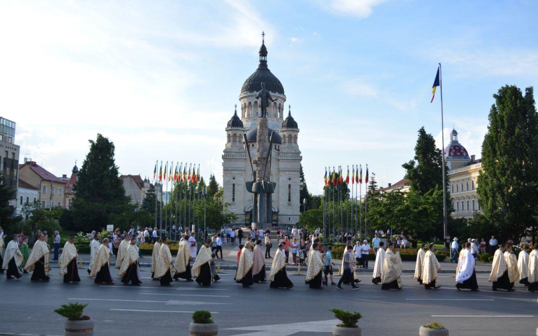 Procesiune de Rusalii la Cluj, pentru al optulea an consecutiv