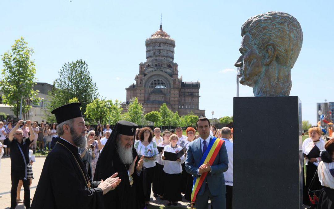Dezvelirea bustului sculptorului Vida Gheza, la Baia Mare