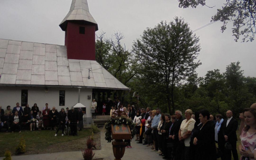 Credincioșii parohiei Leurda, în sărbătoare
