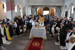 Lucrările la noua biserică parohială din Parva au fost binecuvântate de ÎPS Andrei