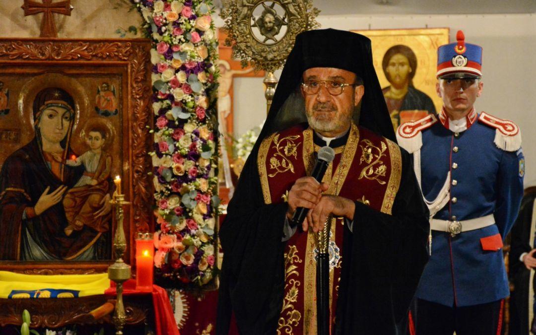 """Preasfinţitul Qais: """"Să ne purtați în rugăciunile voastre, în special în fața Maicii Domnului, să fie pace în Siria"""""""