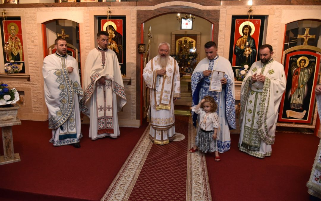 Parohia de pe Valea Gârbăului a primit sâmbătă binecuvântare arhierească