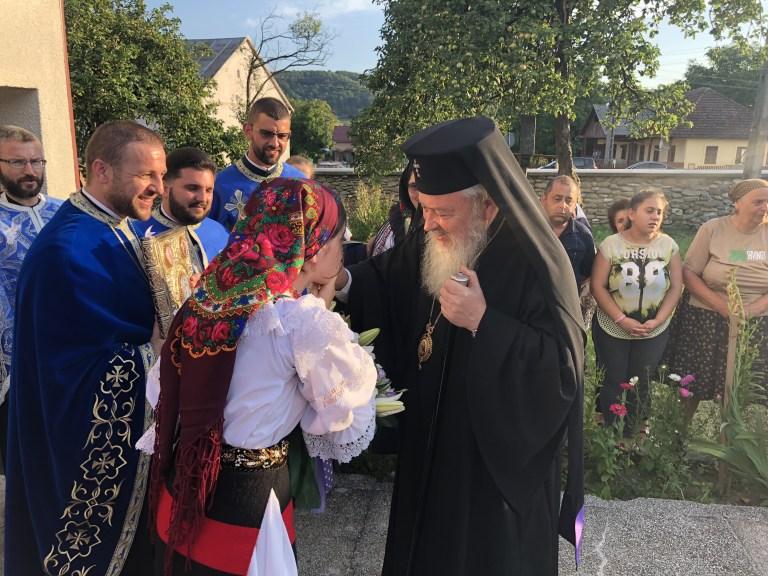 Înaltpreasfințitul Părinte Andrei a vizitat parohia Măgoaja