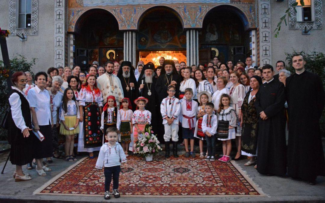 "Sfințirea clopotelor Bisericii ,,Sf. Arh. Mihail și Gavril"" din Dâmbul Rotund"