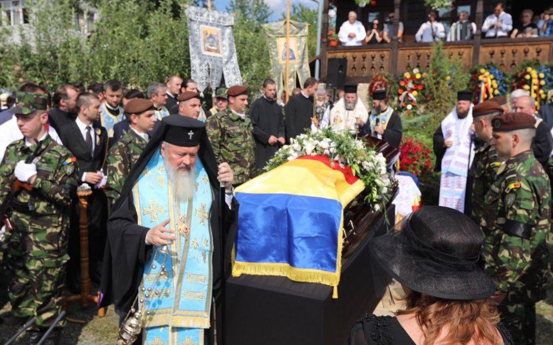 Maestrul Dumitru Fărcaș, condus pe ultimul drum