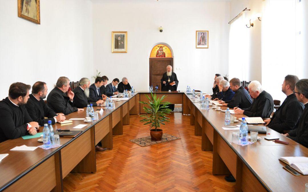 Ședința semestrială cu părinții protopopi, la Centrul Eparhial din Cluj-Napoca