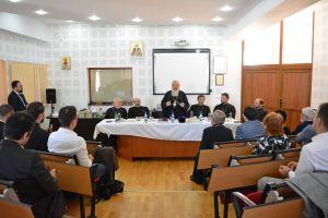 """IPS Andrei, prezent la susținerea publică a tezei de doctorat """"Principiile prozelitismului sectar și misiunea Bisericii"""""""